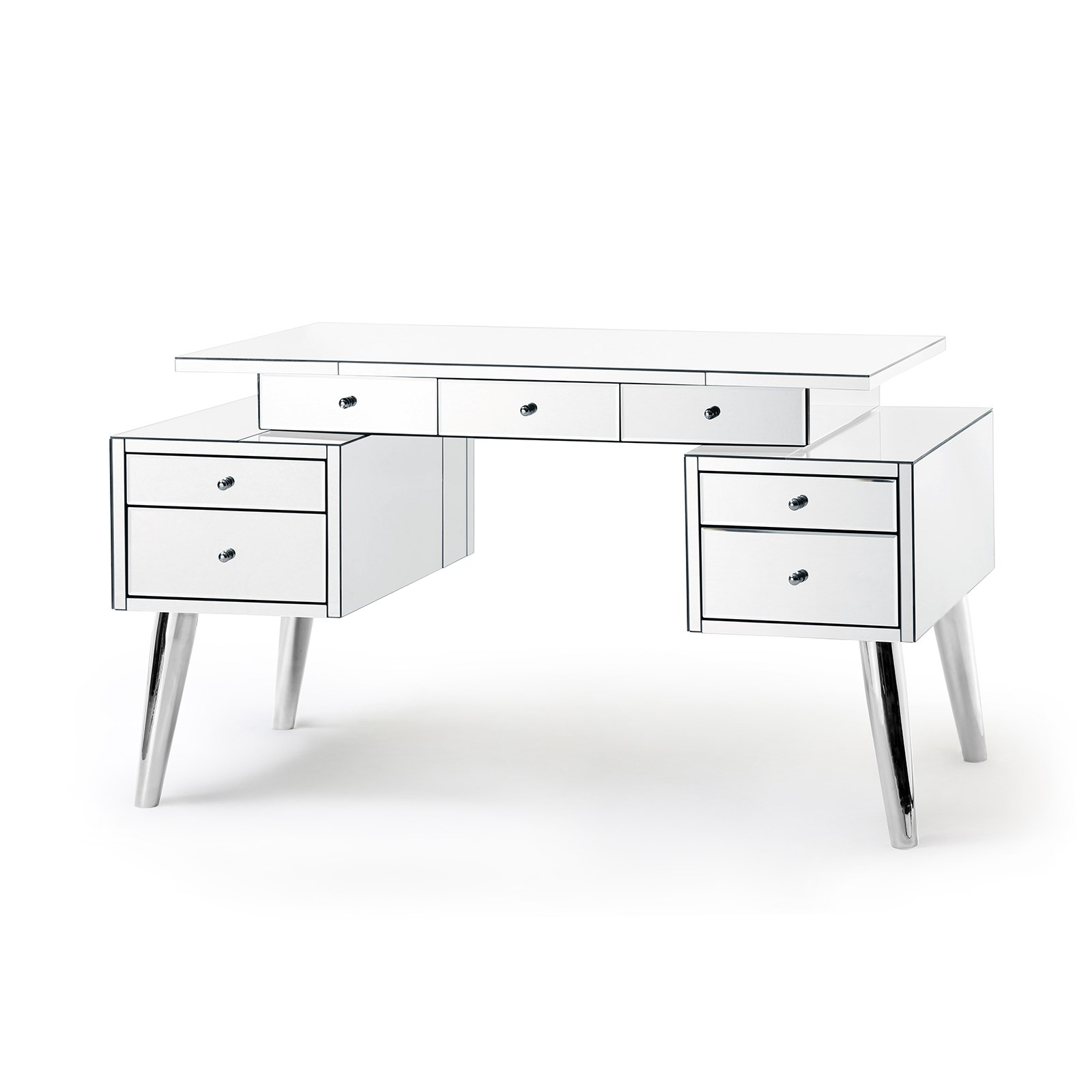 New Serena Mirrored Desk, Mirror - Bungalow 5 CC53
