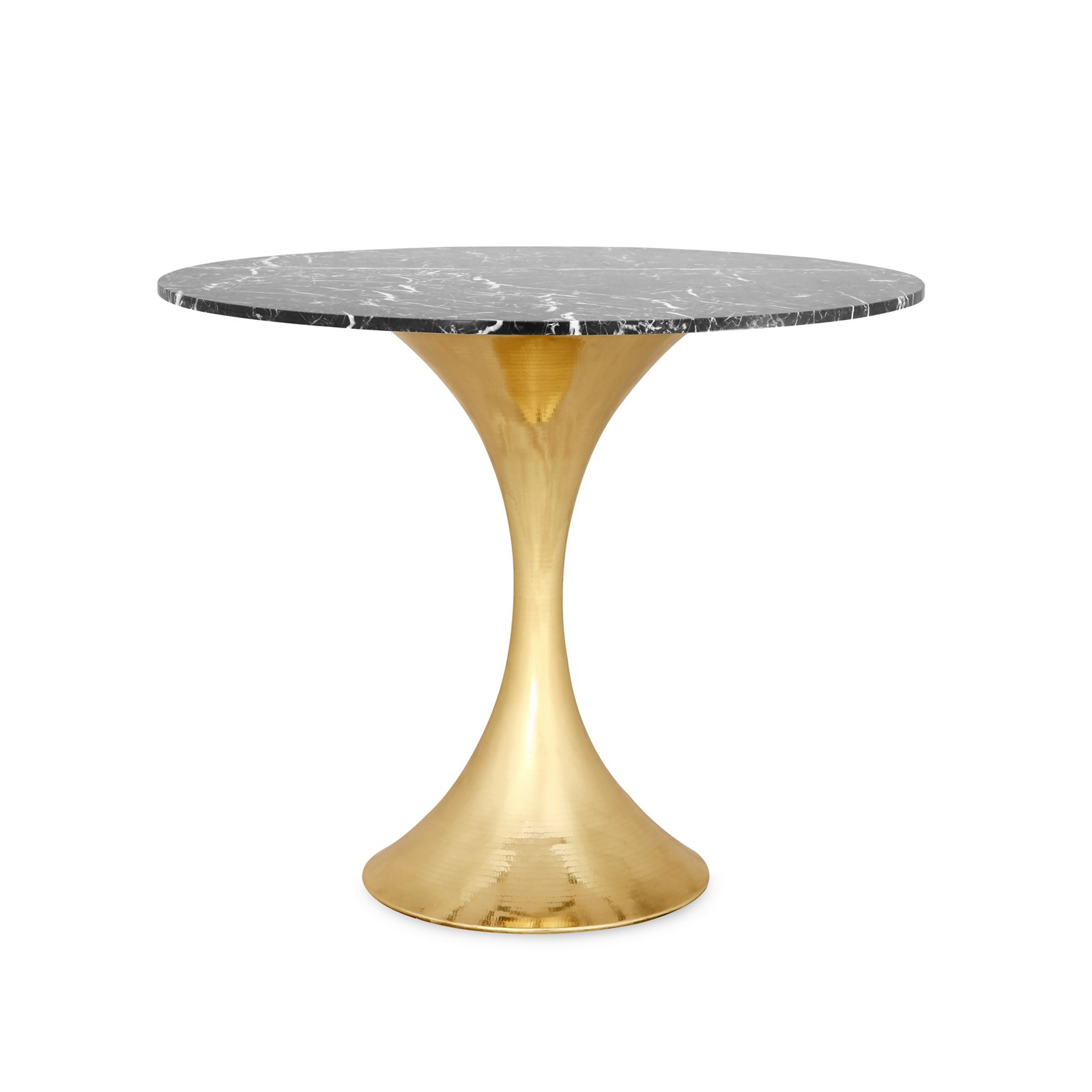 Stockholm 36 nero center dining table top base sold for Dining at at t center