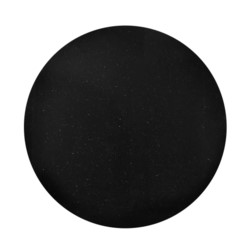 """'Stockholm 36"""" Galaxy Center Dining Table Top (Base sold separately), Black and Gold"""