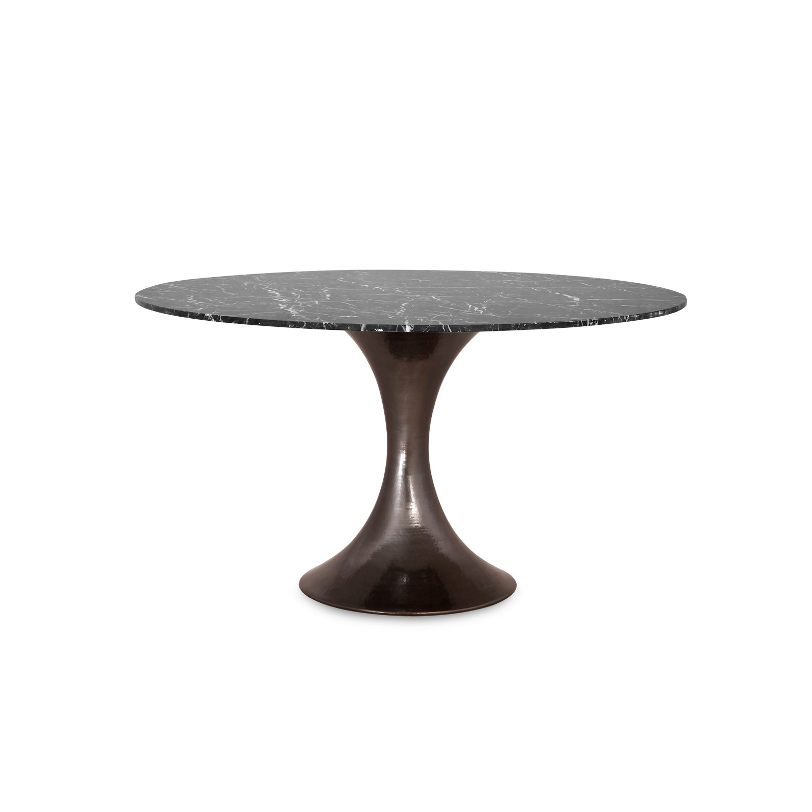 Stockholm Bronze Dining Table Base Pairs With 52 amp 60