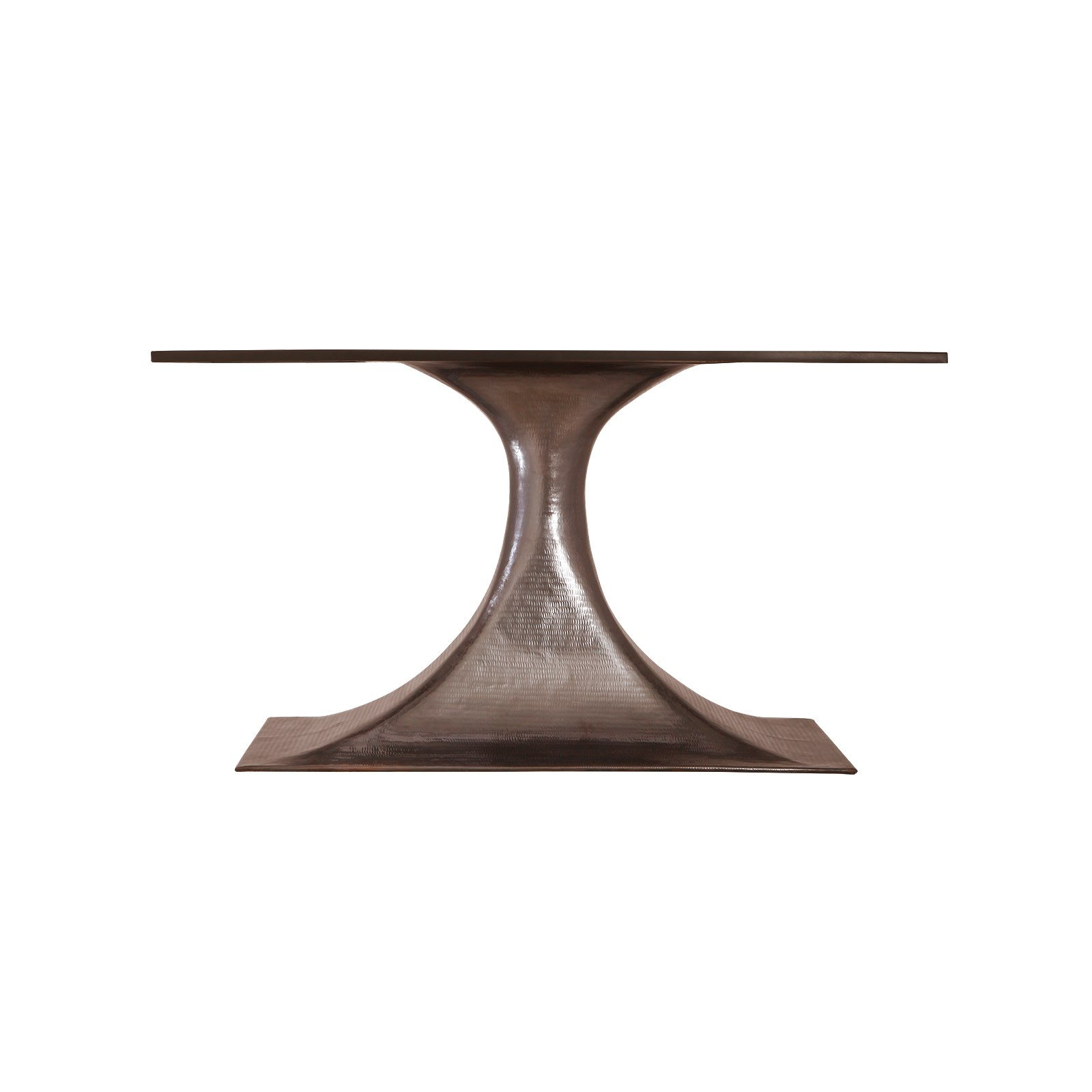 Stockholm Bronze Oval Dining Table Base Pairs With 95