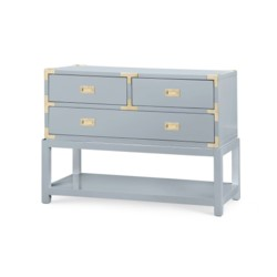 'Tansu Console Table, Gray