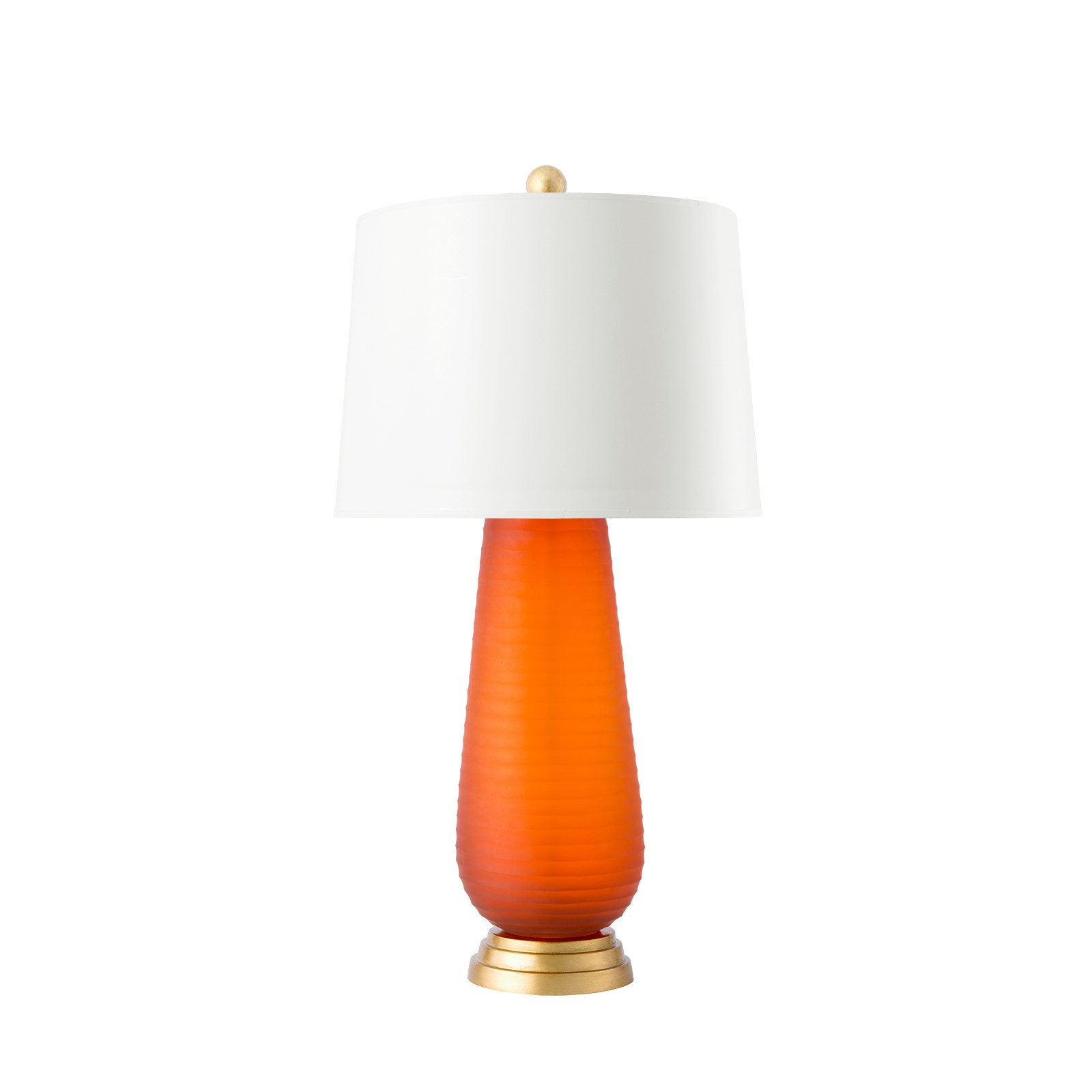 Zelina Lamp, (Lamp Only), Orange