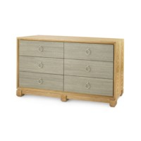 Calvin  6-Drawer, Sage Green