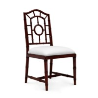Chloe Side Chair, Walnut
