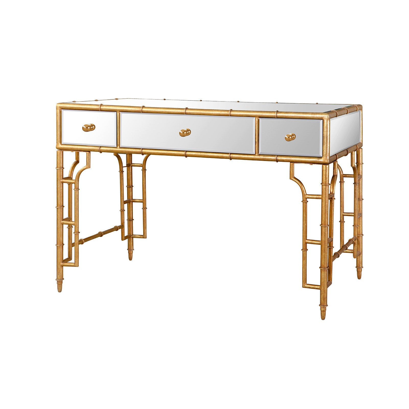 Collette desk gold bungalow 5 for Bungalow 5 desk