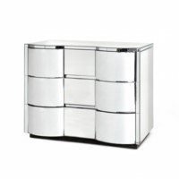 Cunard Large 3-Drawer, Mirror