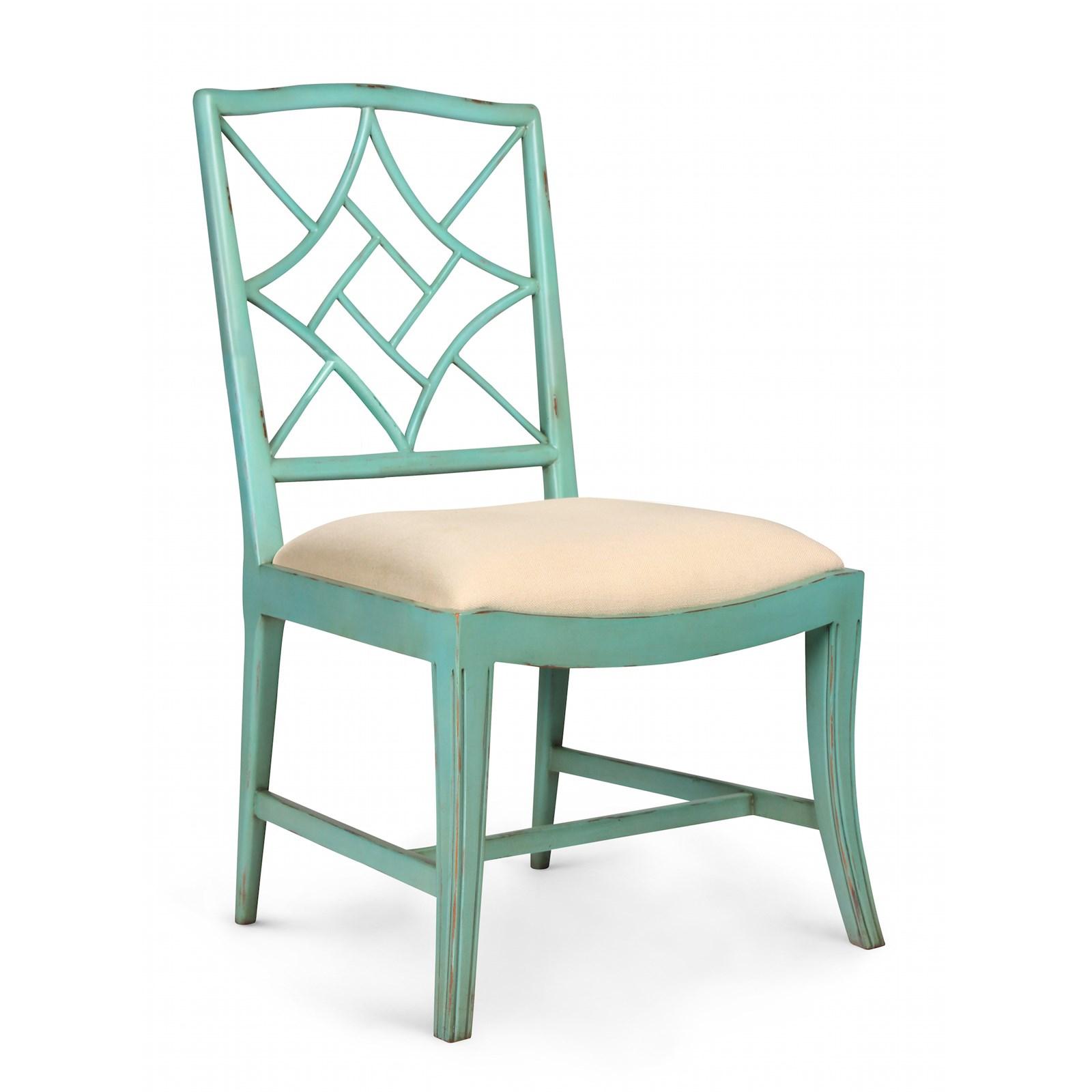 Evelyn Side Chair, Seafoam Green