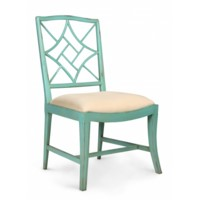 Evelyn Side Chair, Seafoam Green
