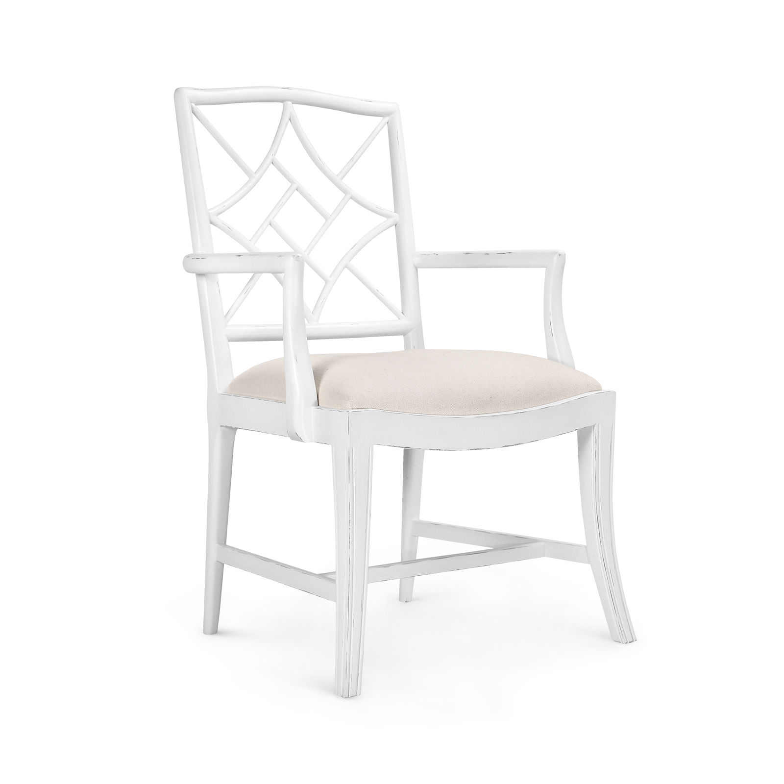 Evelyn Armchair White Bungalow 5