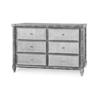 Fairfax 6-Drawer, Gray