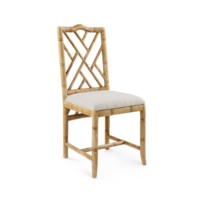 Hampton Side Chair, Natural