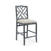Hampton Counter Stool, Gray
