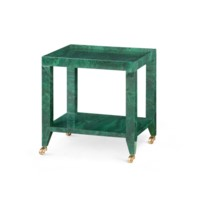 Isadora Tea   Table, Malachite Green