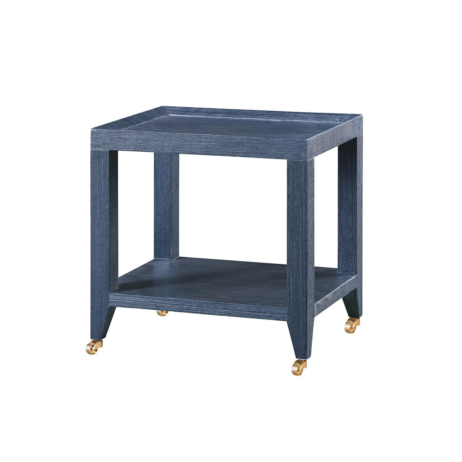 Isadora Tea Table Navy Blue Bungalow 5