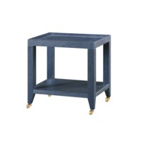 Isadora Tea  Table, Navy Blue