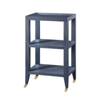 Isadora Side Table, Navy Blue