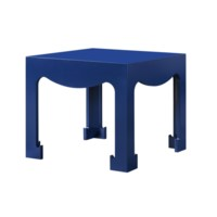 Jordan Tea Table, Navy Blue