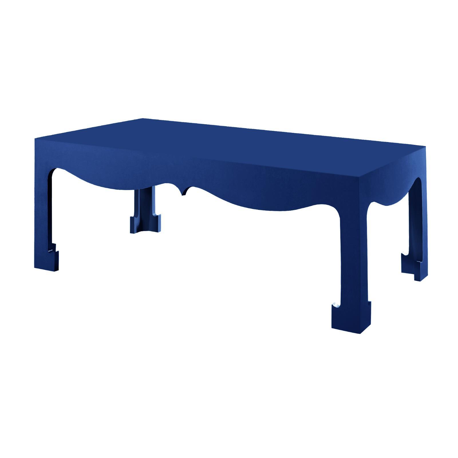 Jordan Coffee Table, Navy Blue