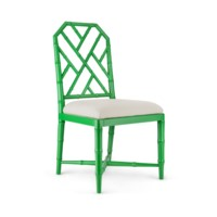 Jardin Side Chair, Emerald Green
