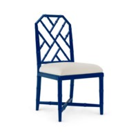 Jardin Side Chair, Navy Blue