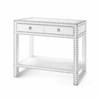 Marco Console/Large Side Table, White