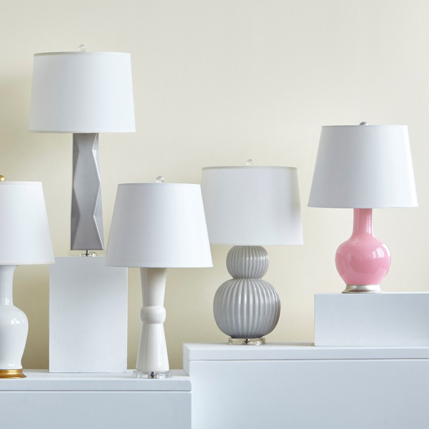 Meridian Lamp (Lamp Only), Gray - Bungalow 5
