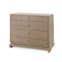 Ming Large 4-Drawer, Brown
