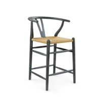 Oslo Counter Stool, Gray
