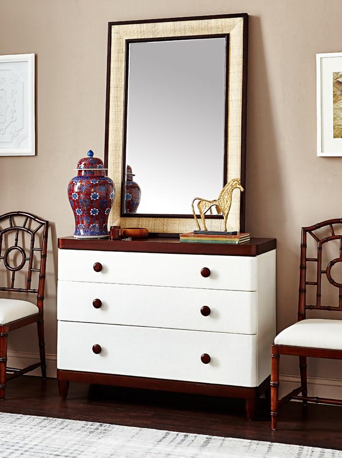 Polo Mirror Walnut Bungalow 5
