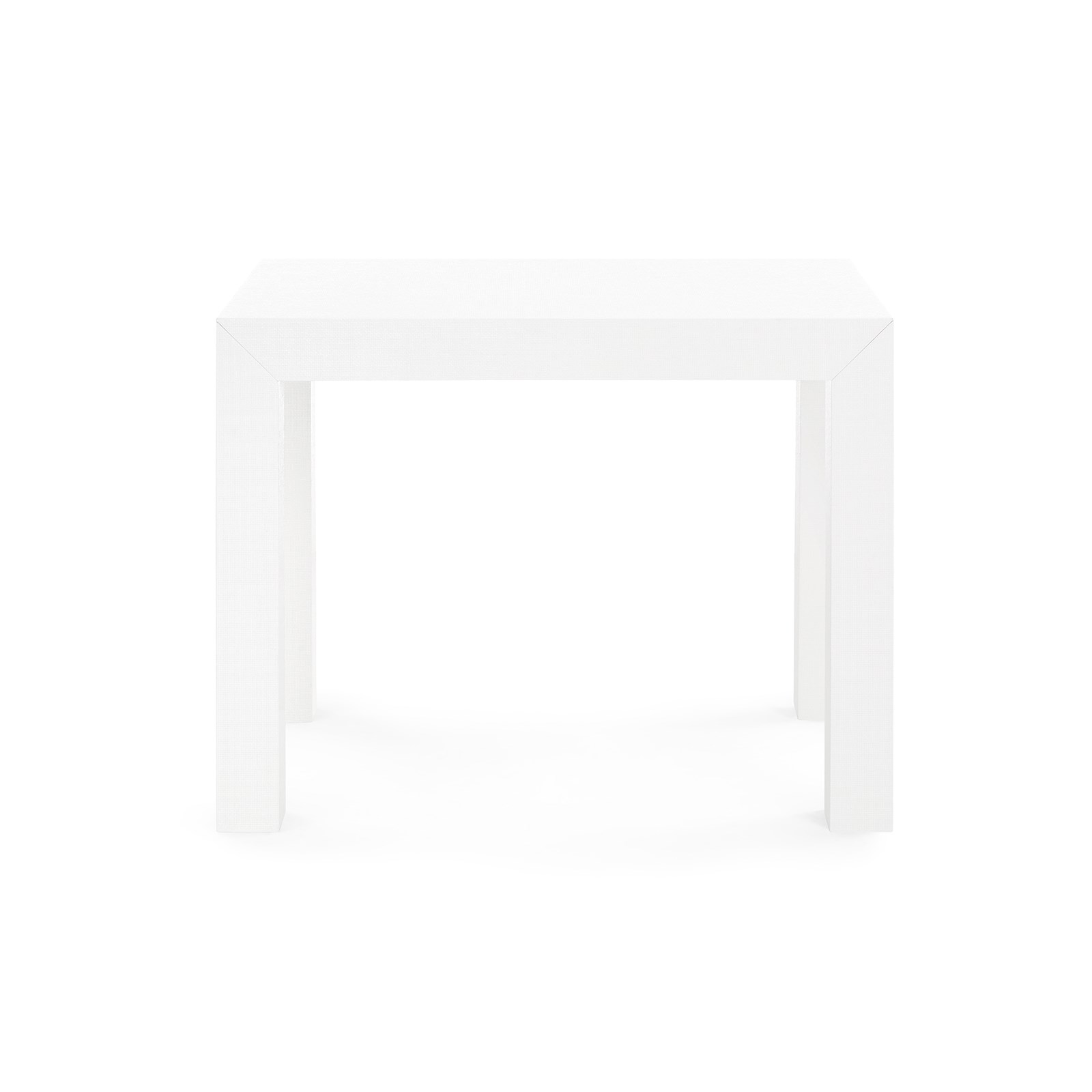 Parsons Side Table, White - Bungalow 5