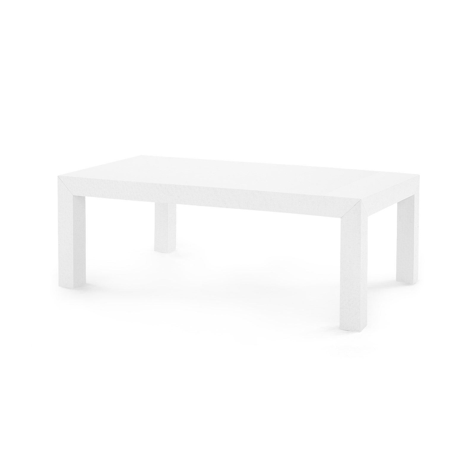 Parsons Coffee Table White Bungalow 5