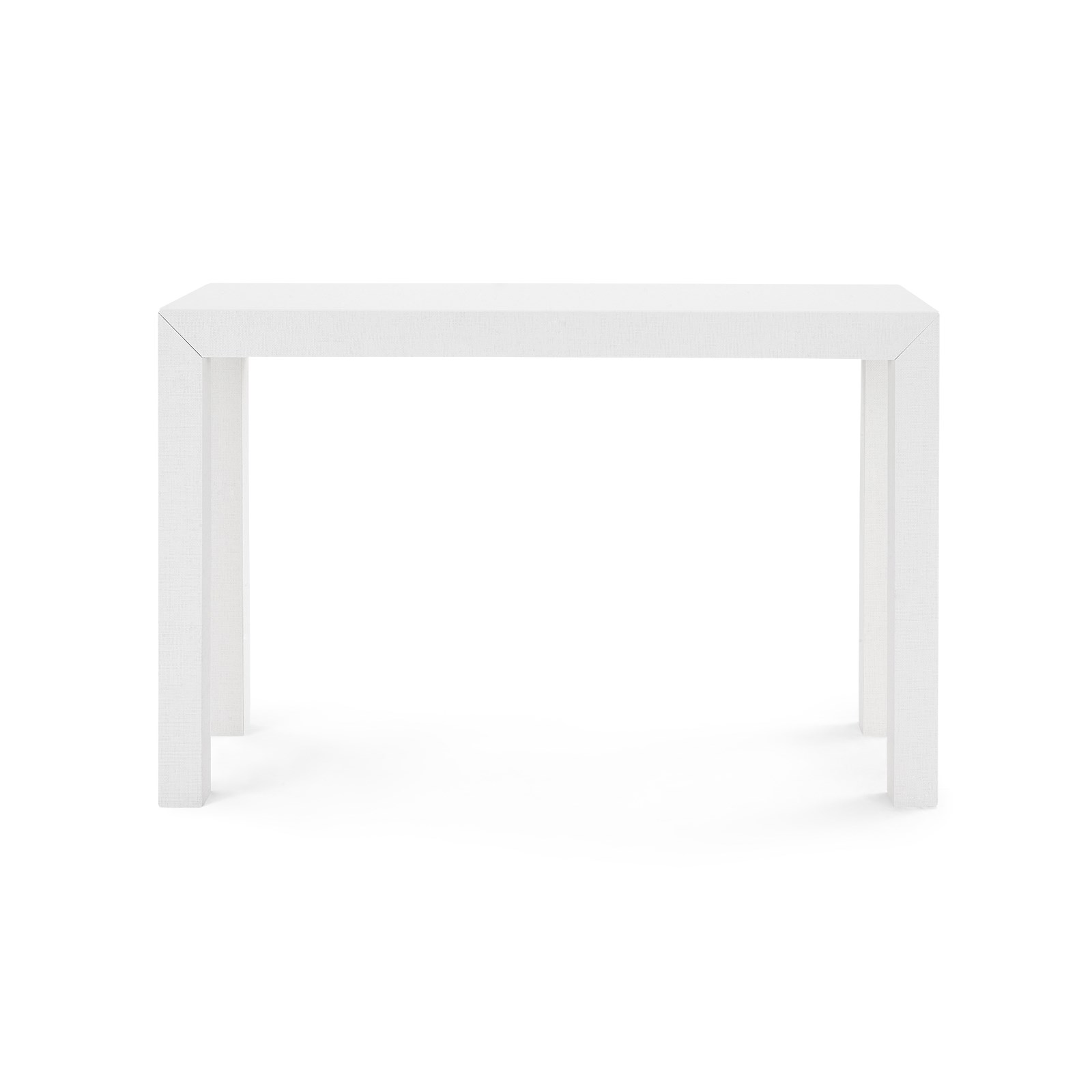 parsons console table white bungalow 5