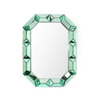 Romano Wall  Mirror, Emerald Green